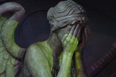 Weeping Angel photo credit to Mike Chernucha on Flickr