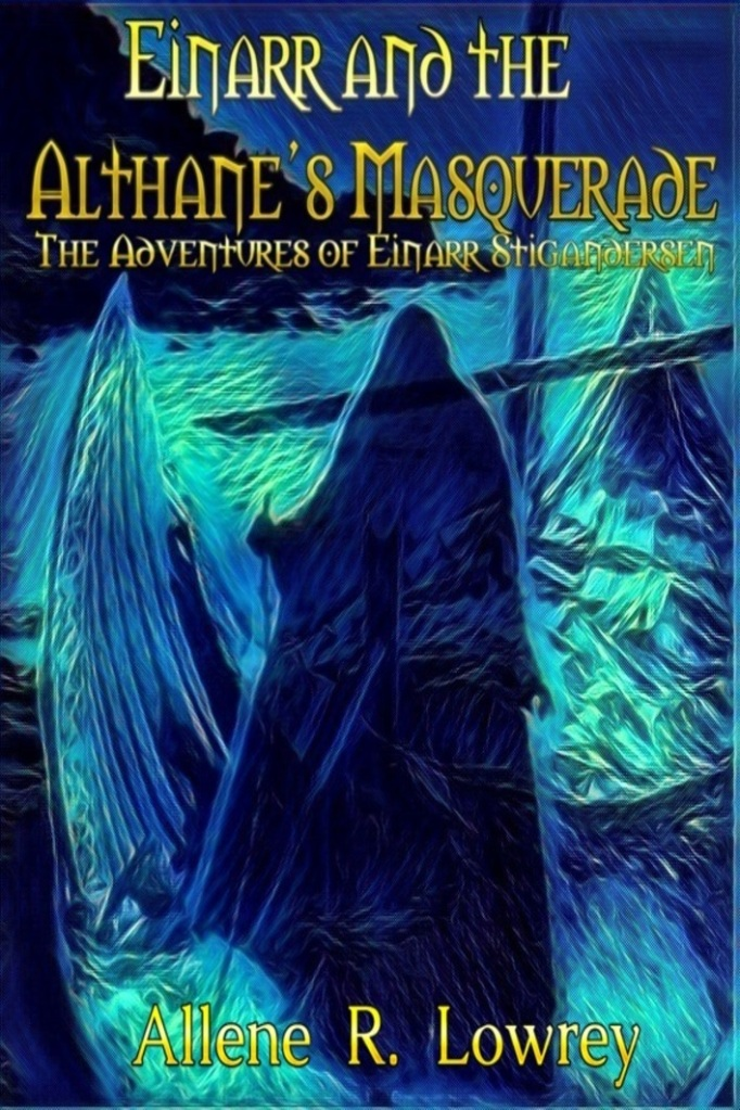 Cover for Einarr and the Althane's Masquerade